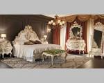 Mebel Mewah Furniture Jepara Dengan Pilihan Ukiran Solid Wood FK KS 223Kamar Tidur Set Gold Furniture Jepara FK KS 218