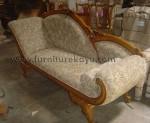 Jual Furniture Kayu Sofa Mawar Anggur FK 875