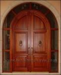 Pintu Rumah Utama Model Lengkung KP 003