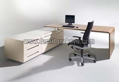 Meja Kantor Modern Minimalis