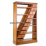 Furniture Kayu Jati Rak Buku Minimalis Kode ( FK 087 )
