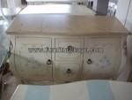 Furniture Duco Mewah Dresser Emas Kode ( FK 088 )