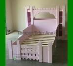 Harga Tempat Tidur Anak Perempuan Minimalis FK TA 554