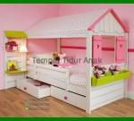 Model Tempat Tidur Anak Perempuan Minimalis FK TA 556