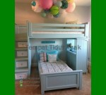 Tempat Tidur Anak Perempuan Dari Kayu FK TA 520
