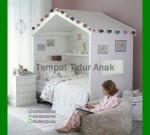 Tempat Tidur Jati Anak Perempuan FK TA 709