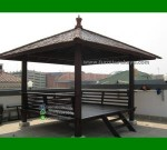 Contoh Gazebo Rumah Tingkat Ukuran 3×3 Meter FK-GZ 812