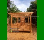 Progress Gazebo Minimalis Kayu Solid Jepara FK-GZ 870