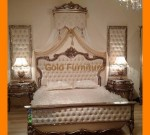 Furniture Kamar Tidur Ukiran Klasik Kombinasi Jok Mewah FK KS 157