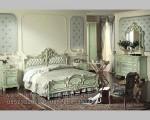 Gambar Set Tempat Tidur Ukiran Solid Terbaru FK KS 188