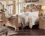 Set Kamar Tidur Model Rudal Duco Putih Mewah FK KS 274