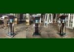 Paling Laris Podium Minimalis Stainless Kayu Jati Salak Brown FK-PM 279
