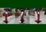 Podium Minimalis Gereja Model Kayu Jati Lengkung FK-PM 287