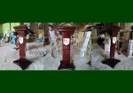 Podium Minimalis Mimbar Jati Solid Paling Murah FK-PM 291