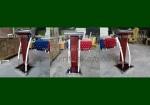 Ready Stock Podium Minimalis Stainless Kayu Jati Jepara FK-PM 331